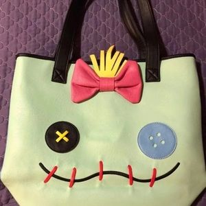 Loungefly Bags - Stitch & Scrump Tote